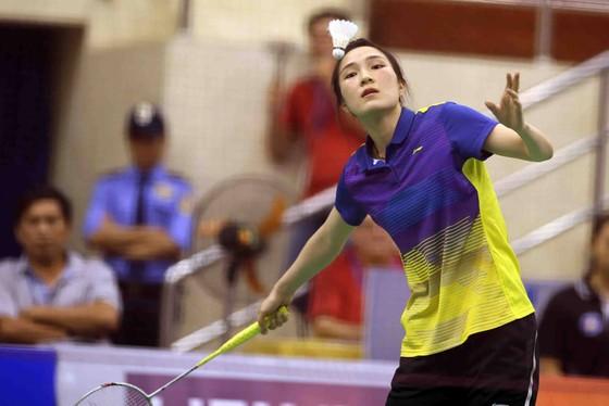Vũ Thị Trang là tay vợt Việt Nam tiến sâu nhất tại giải VĐTG. Ảnh: Dũng Phương