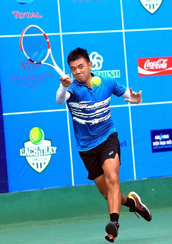 Giải quần vợt VTF Masters 500 Hải Phòng: Lý Hoàng Nam có chiến thắng đầu tiên trong màu áo mới ảnh 1