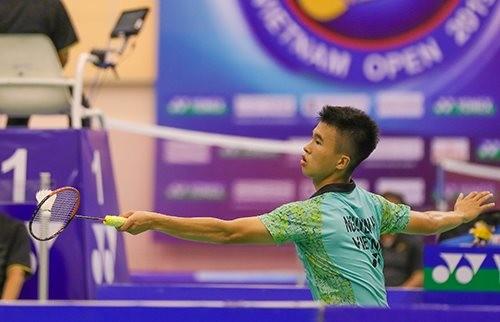 Tay vợt Phạm Cao Cường vào tứ kết giải cầu lông Maldives ảnh 1