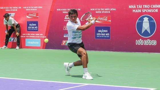 Giải quần vợt ITF World Tour: Lý Hoàng Nam có chiến thắng ngoạn mục trước tay vợt người Nga ảnh 1