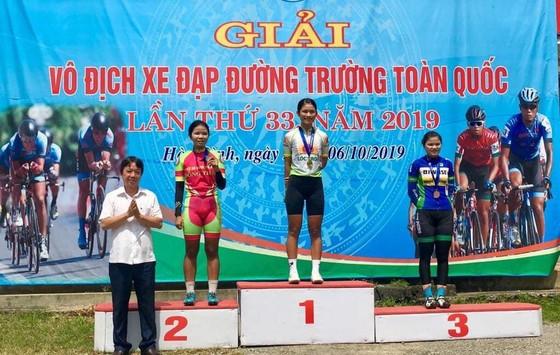 Giải xe đạp VĐQG: Nữ An Giang khẳng định sức mạnh ảnh 1