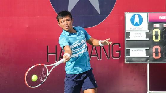 Lý Hoàng Nam đánh bại tay vợt Trung Quốc vào chung kết giải quần vợt ITF World Tour ảnh 1