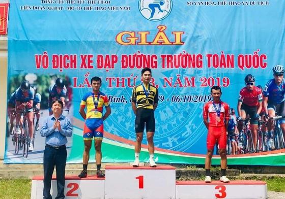 Giải xe đạp VĐQG: Quàng Văn Cường mang HCV thứ 4 về cho Hà Nội ảnh 1