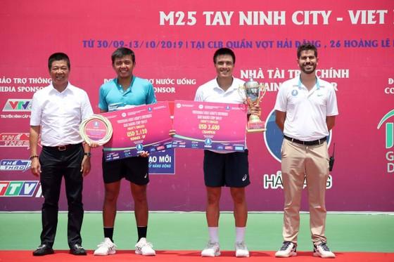 Lý Hoàng Nam giành ngôi á quân giải quần vợt ITF World Tour M25 Tây NinhTay ảnh 2
