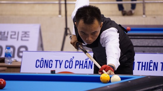 Nguyễn Công Thành lần đầu tiên vào vòng chính giải Bida 3 băng thế giới ảnh 1