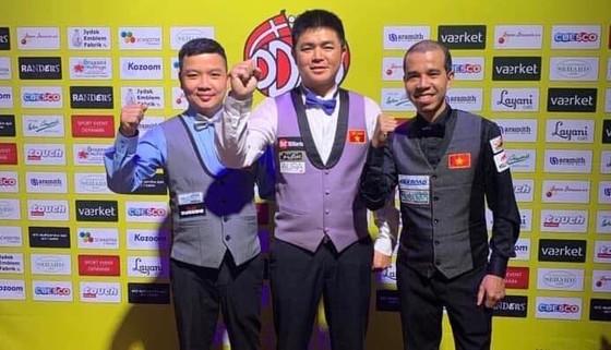 Cả ba cơ thủ Việt Nam đều đang thi đấu thăng hoa.