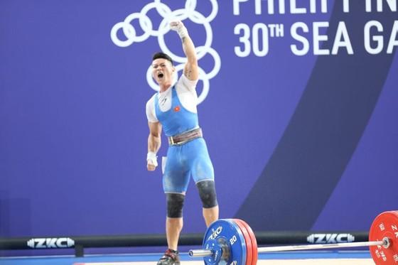 Cử tạ: Thạch Kim Tuấn giành huy chương bạc trong tiếc nuối ảnh 1