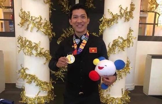 Chàng trai đa tài Ngô Đình Nại lấy HCV billiards 1 băng ngoạn mục ảnh 1