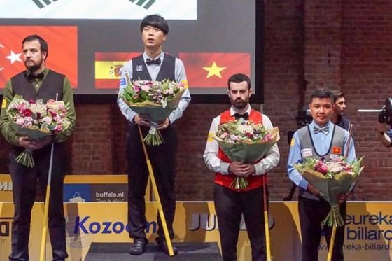 Dàn sao Bida 3 băng Việt Nam tham dự giải thế giới Sham El Sheikh ảnh 1