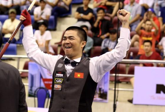 Cơ thủ Nguyễn Quốc Nguyện bất bại tại Continetal Cup.