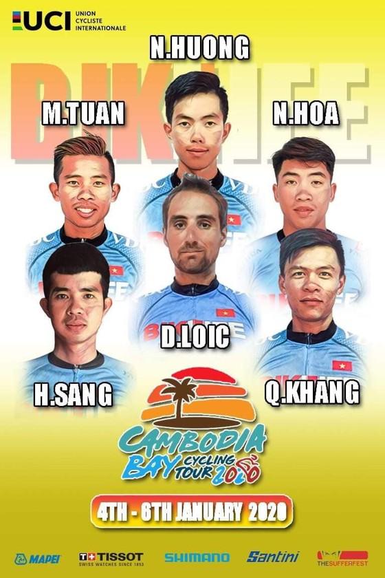 Đội Bike Life Đồng Nai sang Campuchia dự giải xe đạp quốc tế UCI 2.2 ảnh 1
