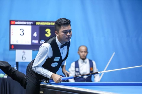 Nguyễn Trần Thanh Tự đang thi đấu ổn định tại giải.