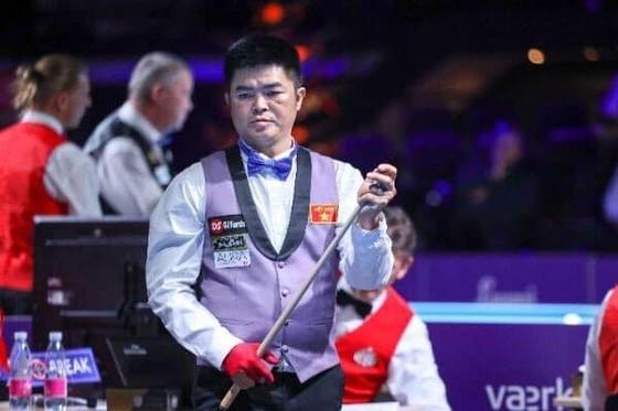 Cơ thủ Nguyễn Quốc Nguyện có trận thua đáng tiếc.
