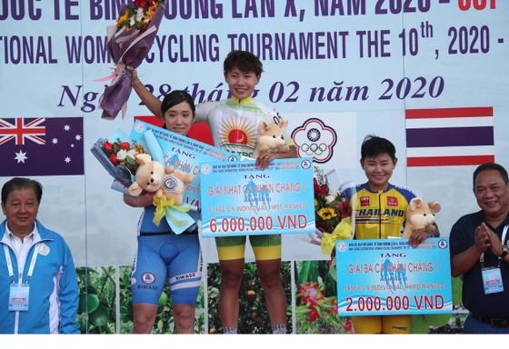 Nguyễn Thị Thật khẳng định sức mạnh tại giải xe đạp nữ quốc tế Biwase   ảnh 1
