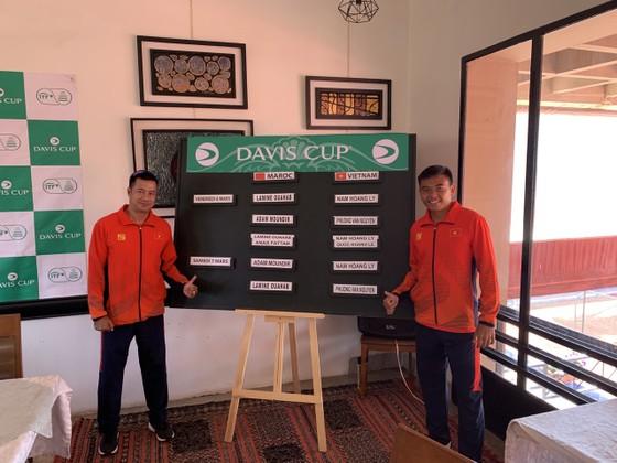 Lý Hoàng Nam làm chủ lực cho đội tuyển quần vợt Việt Nam đấu với Morocoo ảnh 2