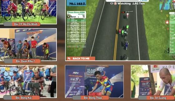 Giải xe đạp Thực tế ảo HTV: Domesco Đồng Tháp trắng tay vì sự cố kỹ thuật ảnh 2