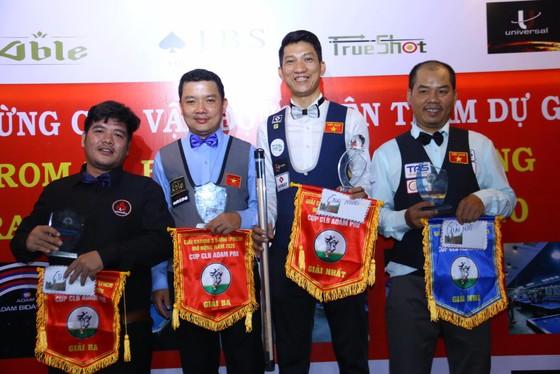Cơ thủ Ngô Đình Nại xuất sắc đăng quang giải bida 3 băng Adam Pro Cup 2020 ảnh 2