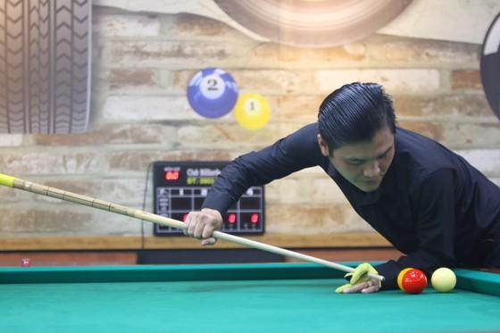 Cơ thủ Võ Phước Thành chơi ấn tượng ngày khai mạc.