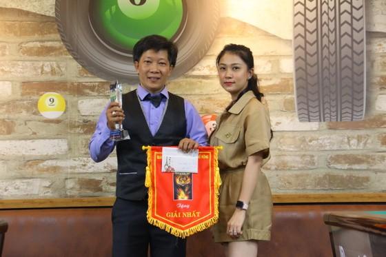 Cơ thủ Nguyễn Hữu Tú giành chức vô địch.