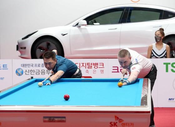 """Mã Minh Cẩm đấu với """"thiên tài"""" Billiards thế giới Caudron ở giải PBA Teameague ảnh 2"""
