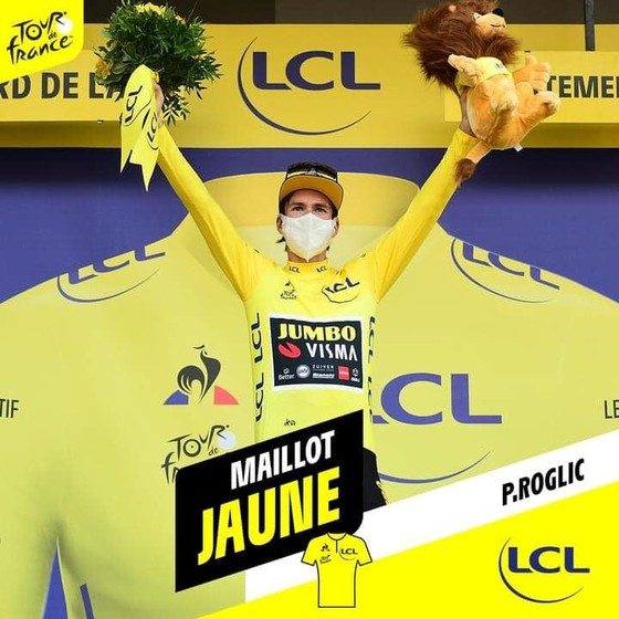 """Tour de France 2020: """"Superman"""" Miguel Lopez thắng chặng 17 khi Áo vàng Roglic nới rộng khoảng cách  ảnh 2"""
