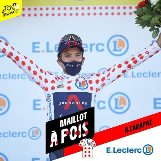 Tour de France 2020: Kwiatkowski và Carapaz bùng nổ giúp Ineos lấy Áo đỏ ảnh 2