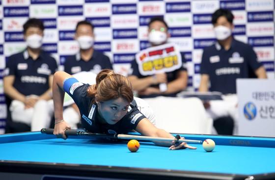 Mã Minh Cẩm giúp đội Alphas thoát khỏi thất bại tại giải Billiards PBA Team League ảnh 1