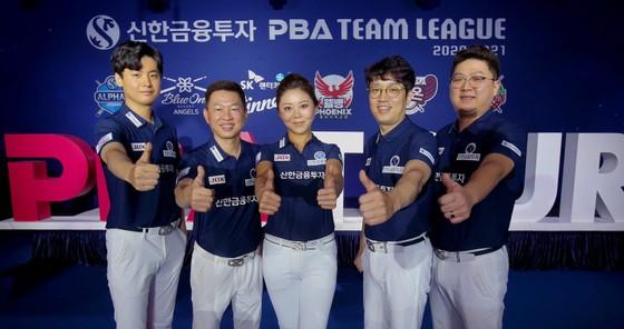 Đội Alphas của Mã Minh Cẩm với quyết tâm chiến thắng. Ảnh: PBA