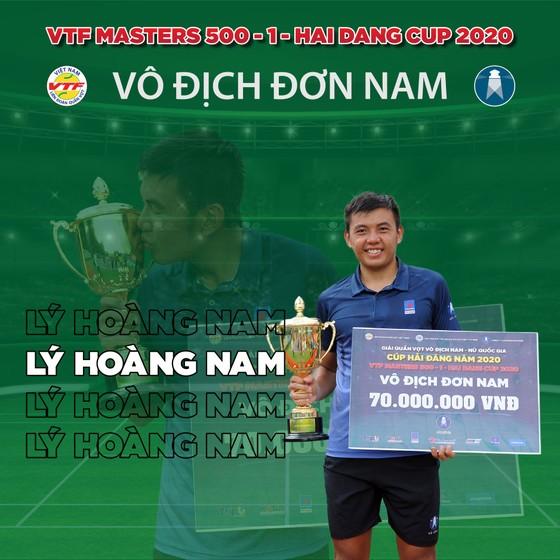 Tay vợt Lý Hoàng Nam phấn khích khi quần vợt Việt Nam trở lại thi đấu ảnh 1