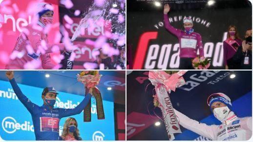 """Giải xe đạp Giro d'Italia: Ruben Guerreiro thắng chặng 9 hất cẳng """"thần gió"""" Filippo Ganna lấy áo xanh dương Vua leo núi ảnh 3"""