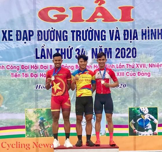 """Trần Tuấn Kiệt vẫn là """"Hoàng tử tốc độ"""" ở giải xe đạp vô địch quốc gia ảnh 1"""