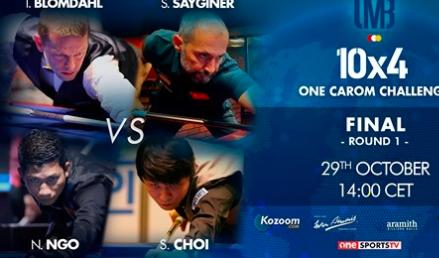 Ngô Đình Nại thẳng tiến vào chung kết giải Billiards 10x4 One Carom Chanllenge ảnh 2