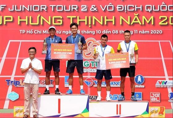 """Đòi nợ """"Vua đánh đôi"""", Lý Hoàng Nam cùng Trịnh Linh Giang lên ngôi giải quần vợt vô địch quốc gia ảnh 2"""