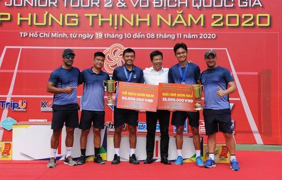"""Lý Hoàng Nam vẫn là """"Vua quần vợt"""" Việt Nam lấy trọn 2 HCV ảnh 2"""