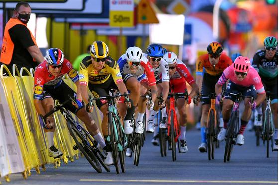 Fabio Jakobsen trở lại sau tai nạn kinh hoàng ở giải xe đạp Tour de Pologne ảnh 2