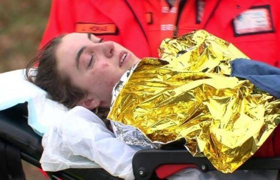 Nhà vô địch xe đạp trẻ thế giới Shirin van Anrooij gặp tai nạn kinh hoàng  ảnh 1