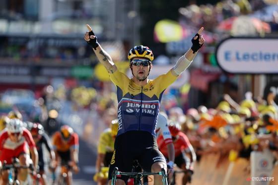 Primoz Roglic giành áo hồng Vuelta a Espana 2020.