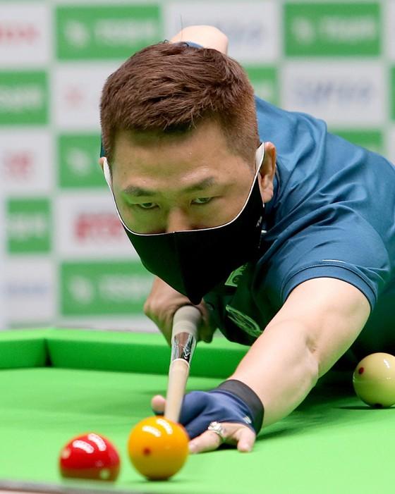 """Mã Minh Cẩm lại đánh bại """"thiên tài"""" billiards thế giới Caudron ở giải PBA Tour ảnh 1"""
