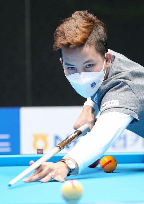 Ba cơ thủ Việt Nam đại thắng ngày ra quân giải Billiards PBA Tour tại Hàn Quốc ảnh 1