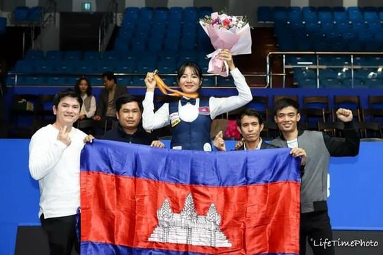 Mỹ nhân Billiards Campuchia Srong Pheavy gia nhập giải LPBA Hàn Quốc ảnh 3