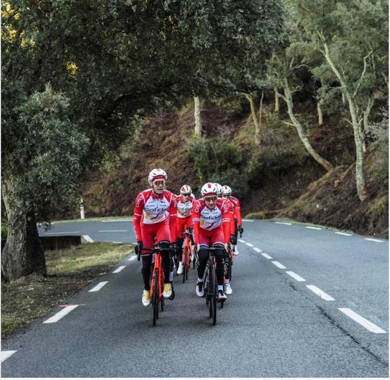 Tay đua Elia Viviani vượt qua bệnh tim trở lại với xe đạp ảnh 2