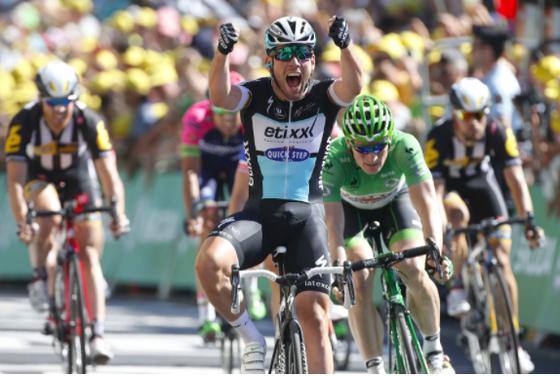 Mark Cavendish trở lại với màu áo Deceuninck - Quick-Step.