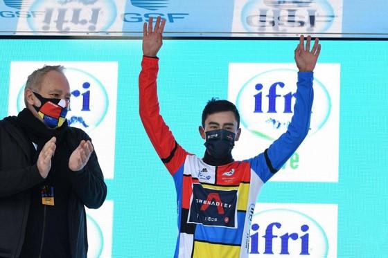 Ivan Sosa chiến thắng chung cuộc Tour de la Provence 2021.