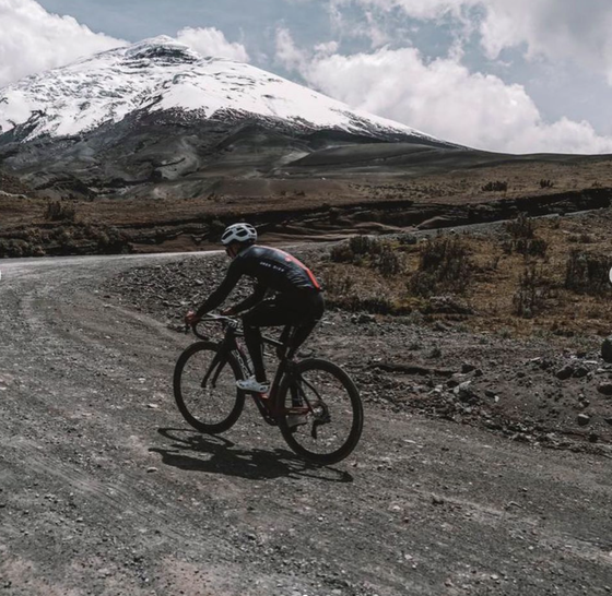 """""""Vua leo núi"""" Richard Carapaz """"luyện công"""" trên núi lửa ảnh 2"""