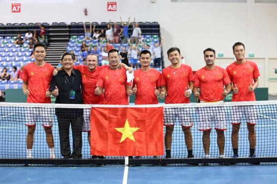 Đội tuyển quần vợt Việt Nam có cơ hội thi đấu trên sân nhà.
