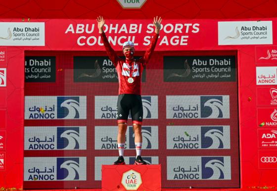 """""""Thần gió"""" Filippo Ganna thống trị nội dung tính giờ trong khi Antonio Tiberi chia tay UAE Tour vì tai nạn khó hiểu ảnh 2"""
