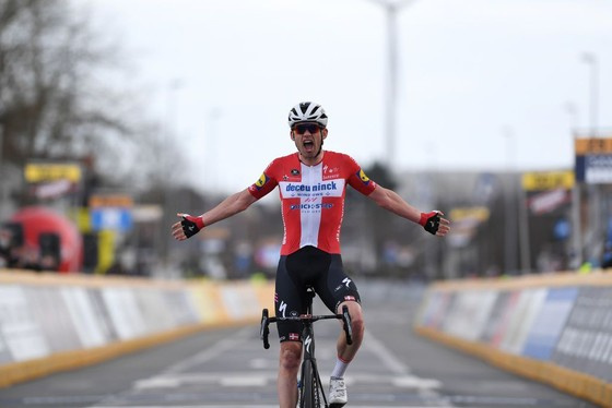 Kasper Asgreen mừng chiến thắng