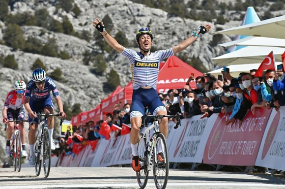 Jose Manuel Diaz chiến thắng chặng 5 Tour of Turkey 2021