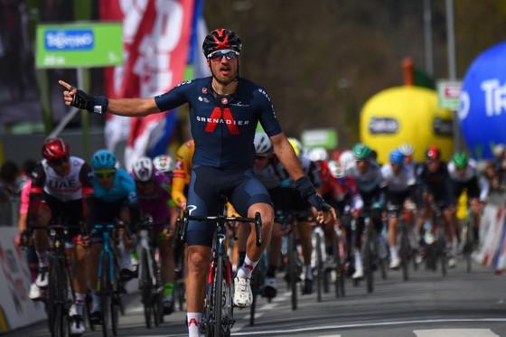 Gianni Moscon thắng chặng đầu giải đua lạnh giá Tour of Alps 2021 ảnh 2