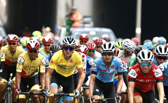 Áo vàng Loic giúp Bike Life Đồng Nai thắng lớn. Ảnh: H.H